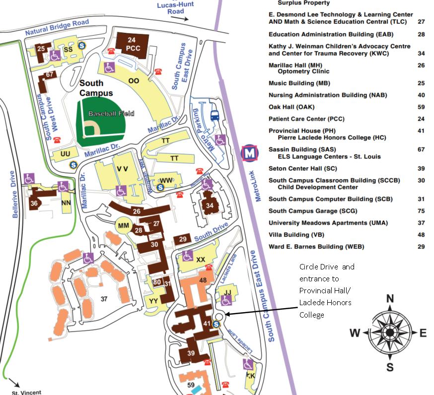 umsl south campus map Umsl South Campus Map My Blog umsl south campus map
